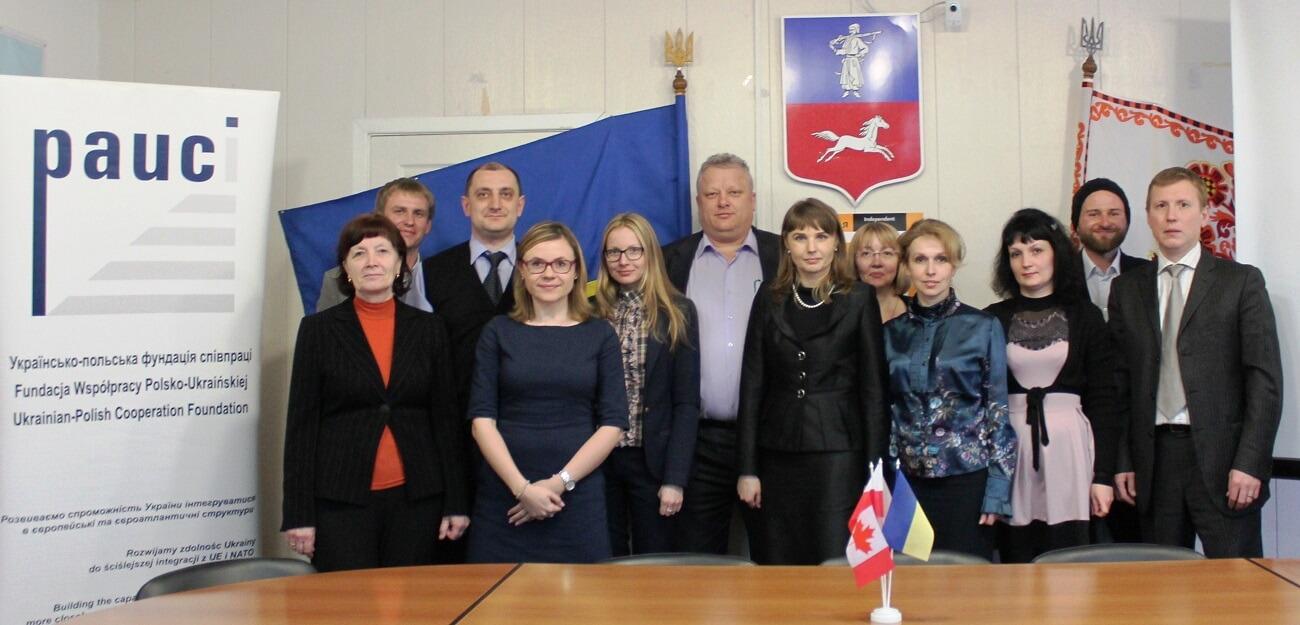 Семінар для активістів Черкас з партиципаторного бюджетування