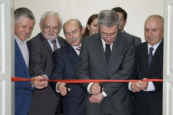 Otwarcie akademickiego inkubatora przedsiębiorczości przy Uniwersytecie Gospodarki Komunalnej im. Beketowa w Charkowie