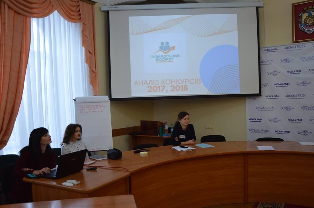 Розпочалася хвиля семінарів з оцінки впровадження партиципаторного бюджету
