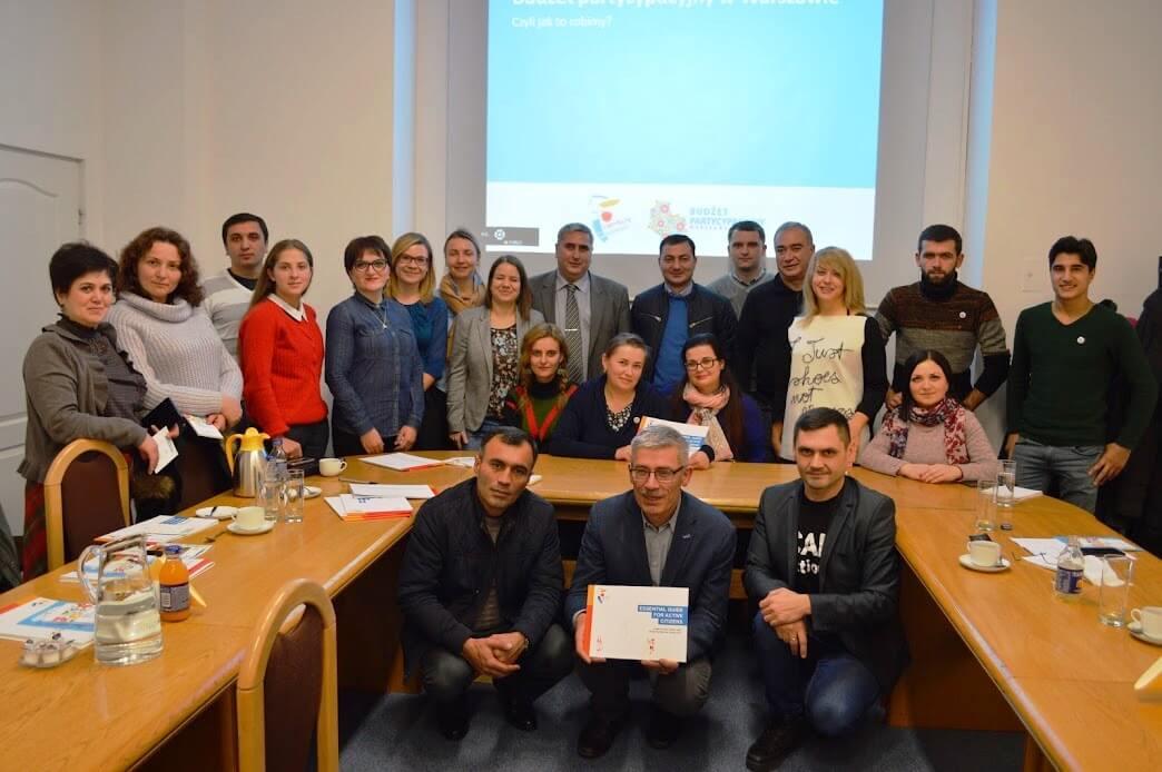 Досвід України з реалізації громадських бюджетів презентували у Варшаві на міжнародній конференції «Культура партиципації»