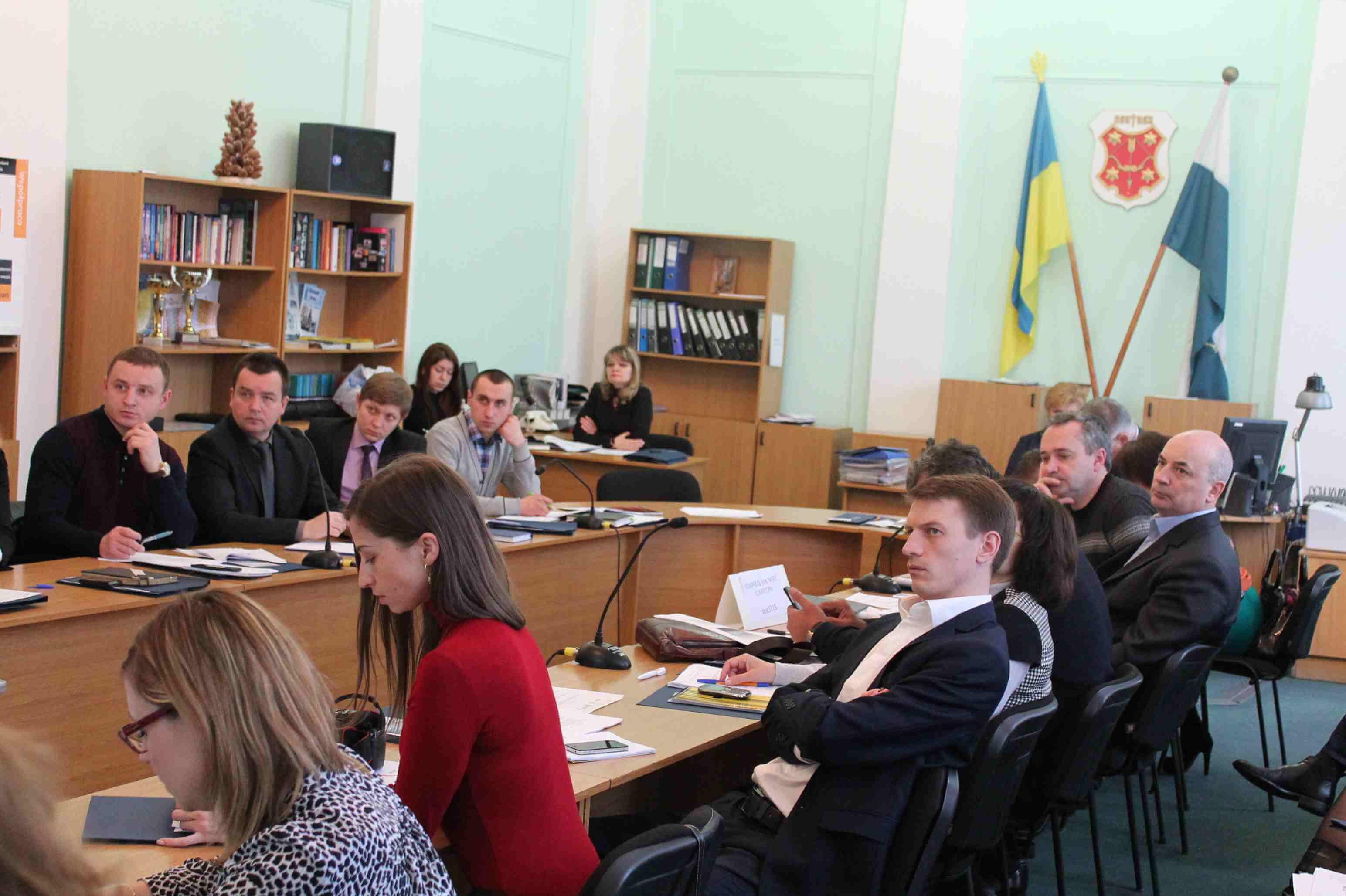 Семінар з партиципаторного бюджетування для активістів Полтави