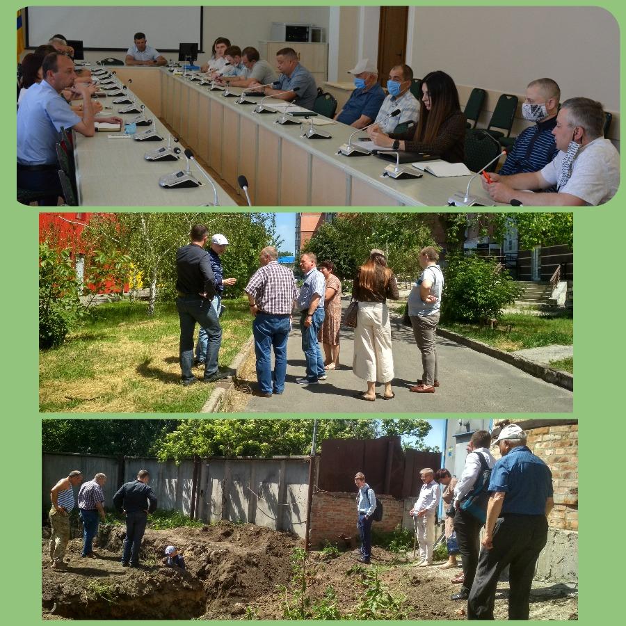 Робоча зустріч за проєктом MO.GE.DI.CO щодо початку будівельних робіт на котельні