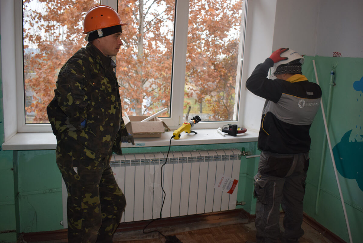 Стан виконання робіт з модернізації системи опалення будівель Вознесенської лікарні